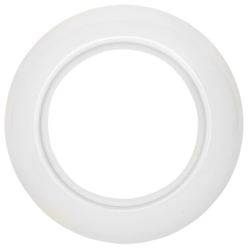 Abdeckrahmen, 1-fach, Geräte, Porzellan, THPG