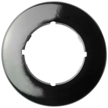 Abdeckrahmen, 1-fach, rund, Schalter, Bakelit, THPG