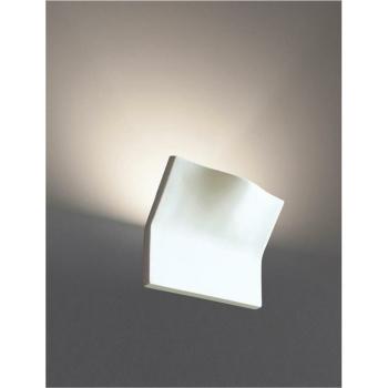 Wandleuchte 1 x G9/48W, Keramik weiß