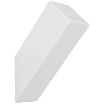 Wandleuchte 1 x G9, Keramik weiß, eckig oben...
