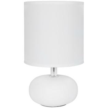 Tischleuchte TRONDIO 1 x E14, Keramikfuß weiß