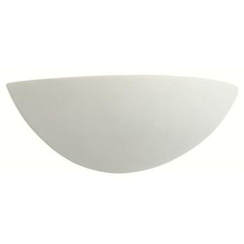 Wandleuchte 1 x E27, Keramik weiß