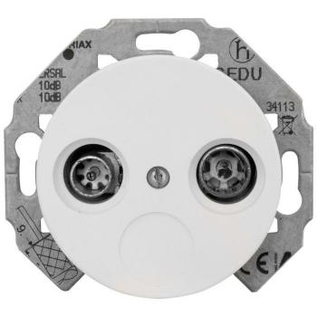 Kombi-Gerät, Antenne, 2-Loch, Porzellan, THPG