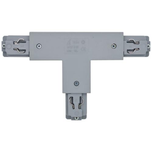 Ivela 3-Phasen T-Verbinder, silber, links