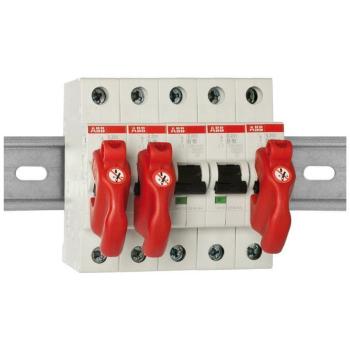 5 x Clipblock Sperrelement für Sicherungsautomaten...