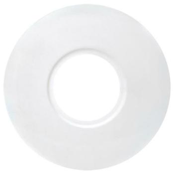 Montageplatte, Metall weiß