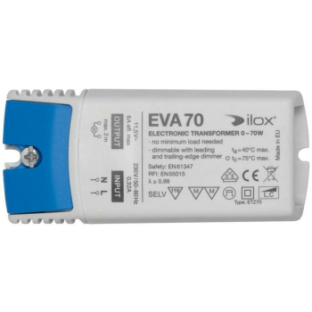 Elektronischer NV-Trafo ETZ70, 11,5V/0-70W, dimmbar