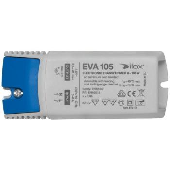 Elektronischer NV-Trafo ETZ105, 11,5V/0-105W, dimmbar