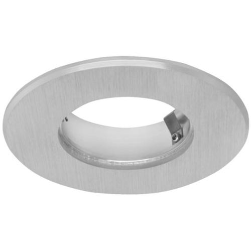 LED Einbauhalterung für 1 x LED/2,5W, Aluminium gebürstet