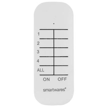4-Kanal Funk Handsender, Smartwares Smart Home 433,92 MHz