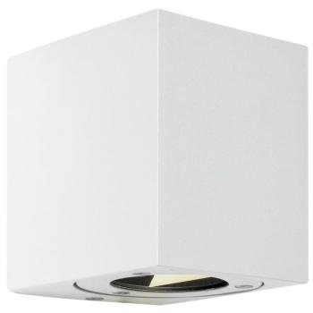 Außenwandleuchte CANTO KUBI 2 weiß, 2 x LED