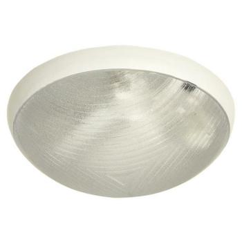 Außenleuchte aus Polycarbonatglas, weiß