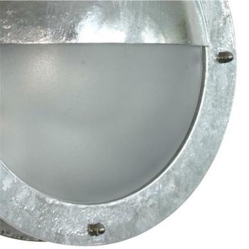 Nordlux Außenleuchte Malte, 1 x E27, verzinkt, Kunststoffglas opal 21841031