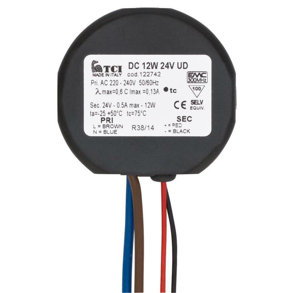 LED Netzteil, 230V/24V-DC/12W