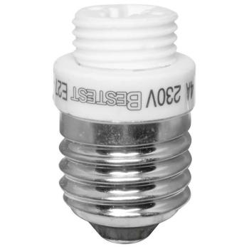 Adapterfassung von E27 auf G9
