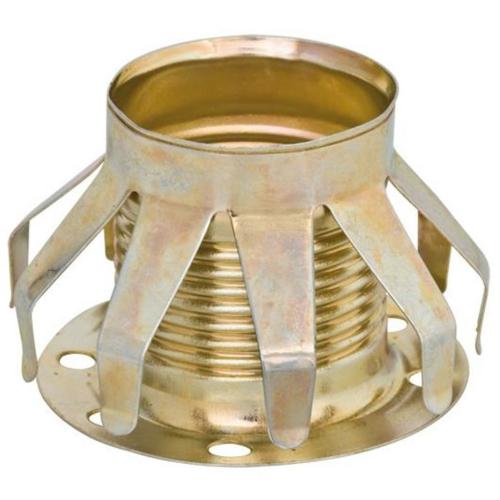 Metallfederring, E14, mit Tellerhülse