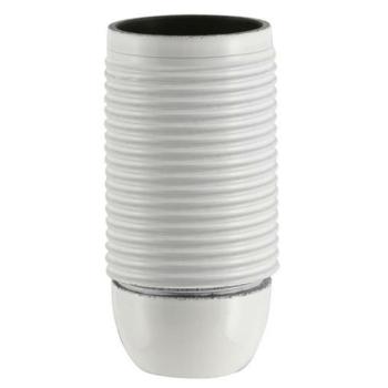 Iso-Fassung, E14, weiß, mit Außengewinde