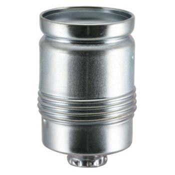 Metallfassung, E27, verzinkt, ohne Außengewinde