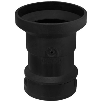 Iso-Flachkabelfassung, E27, schwarz