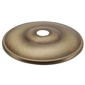 Kuppelscheibe 65 mm, Messing fumé