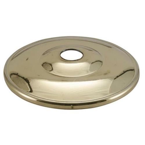 Kuppelscheibe 65 mm, Messing poliert