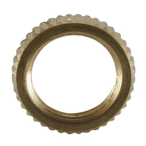Kordelmutter, Messing, 10 mm