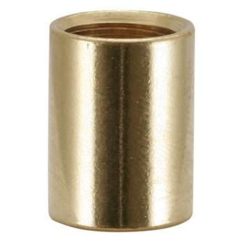 Verbindungsmuffe, 10 mm, Messing poliert