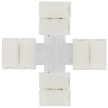 Kreuz-Verbinder mit Klemmanschluss, Ledissimo