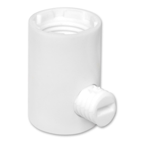 Iso-Klemmnippel, weiß, Innengewinde