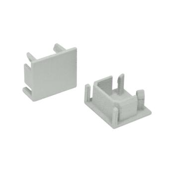 Endkappe für U-Profil, B 16 mm, H 14,5, Ledissimo