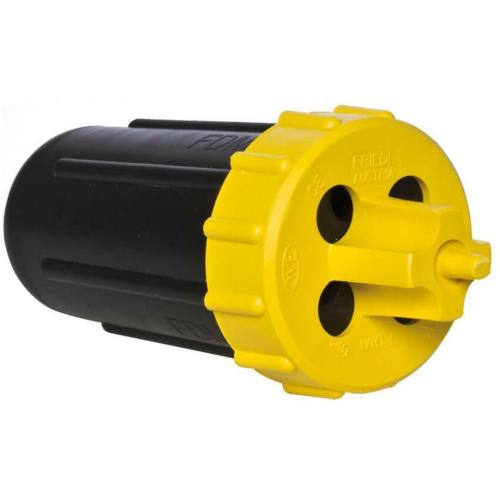 Dosenmuffe für Durchgang/Abzweig, 4 x 5-14 mm, IP68
