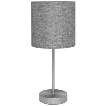 Tischleuchte PACO nickel matt/grau, 1 x E14, Globo...
