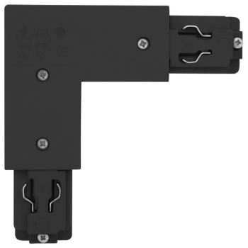 3-Phasen-L-Verbinder,schwarz, links Ivela 7655-11-W30