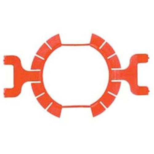 Klemmfix zur gipslosen Montage von Schalterdosen, Ø 60 mm, Kaiser 1159-02