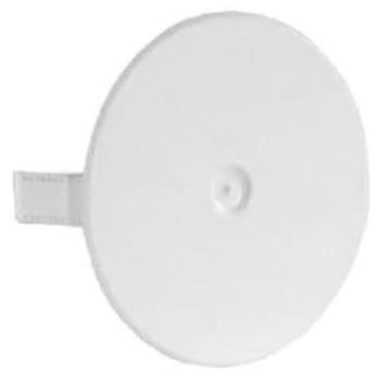 Federdeckel, Ø 60 mm, weiß, F-Tronic