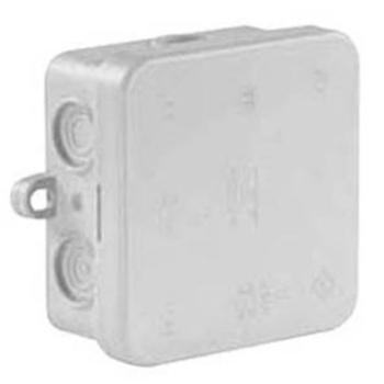 AP/Feuchtraum Kabeldose Typ A8, IP55, grau, 7...
