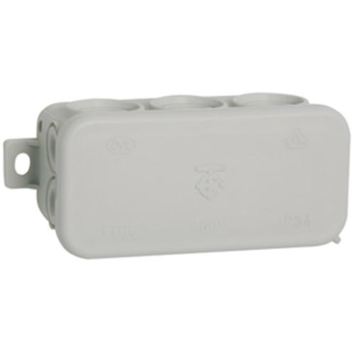 Kabeldose, AP/Feuchtraum, 8 Einführungen