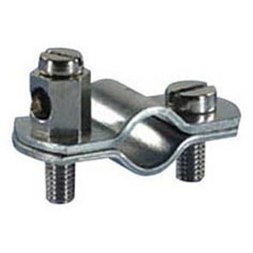 Erdungsrohrschelle, 1/2 Zoll, Stahlband verzinkt