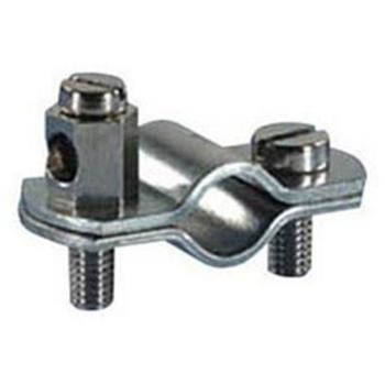 Erdungsrohrschelle, 3/4 Zoll, Stahlband verzinkt