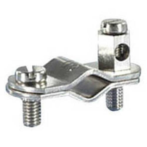 Erdungsrohrschelle, 3/8 Zoll, Kupferband Nickel