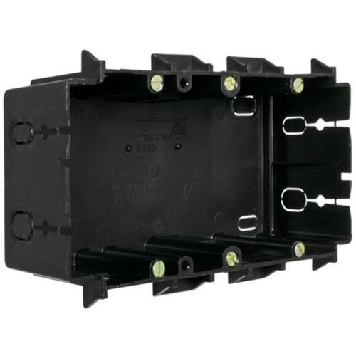 F-Tronic Gerätedose für Kanäle, 2-fach, klemmende Montage