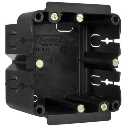 F-Tronic Gerätedose für Kanäle, 1-fach, hängende Montage