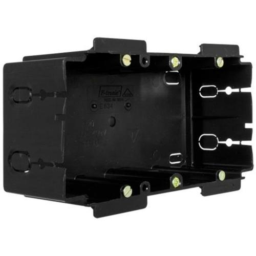 F-Tronic Gerätedose für Kanäle, 2-fach, hängende Montage