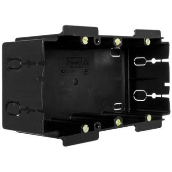 F-Tronic Gerätedose für Kanäle, 2-fach,...