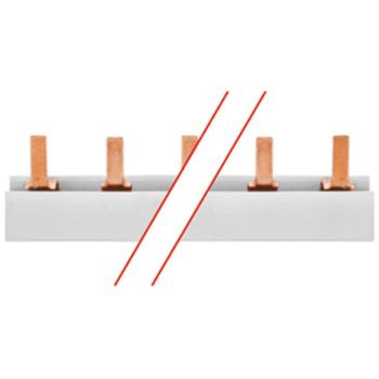 Phasenschiene, 10², Stiftausführung, 4 x 3