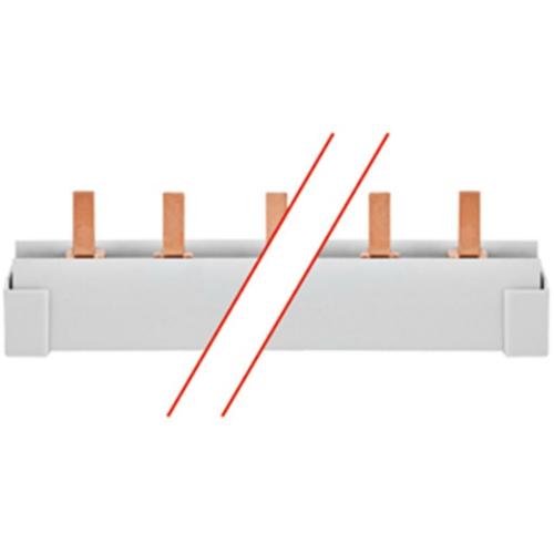 ABB Phasenschiene, 16², Stiftausführung, 4 x 3 TE für LS-Schalter