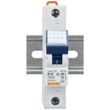 Gewiss LS-Schalter, 10A, 1-polig, B