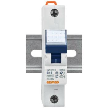 Gewiss LS-Schalter, 16A, 1-polig, B
