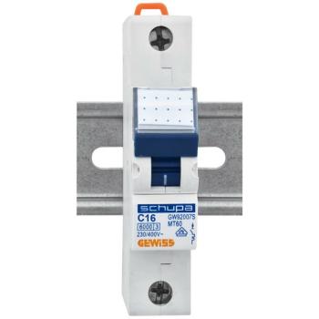 Gewiss LS-Schalter, 16A, 1-polig, C