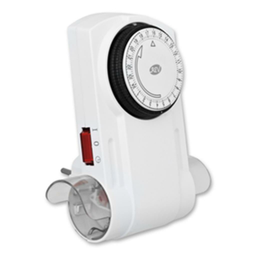 Steckdosen-Zeitschaltuhr 2-fach mitTagesprogramm